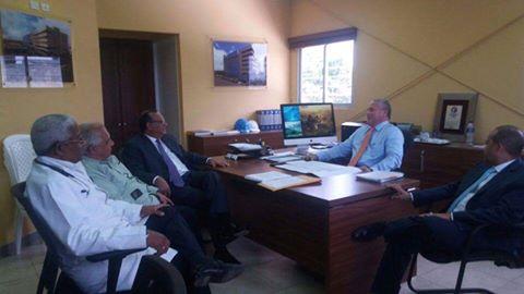 Lee más sobre el artículo Titular SNS evalúa avances de Ciudad Sanitaria Luis E. Aybar