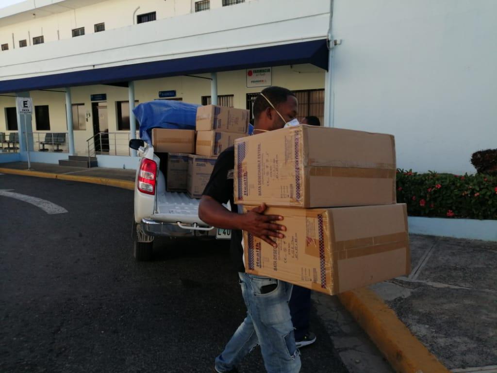 SNS distribuye Equipos de Protección Personal