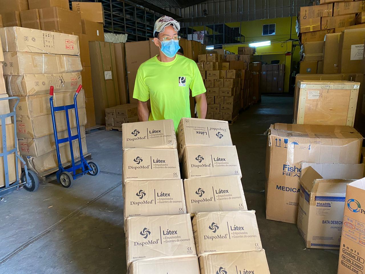 SNS distribuye más de cinco millones de Equipos de Protección Personal en todo el país