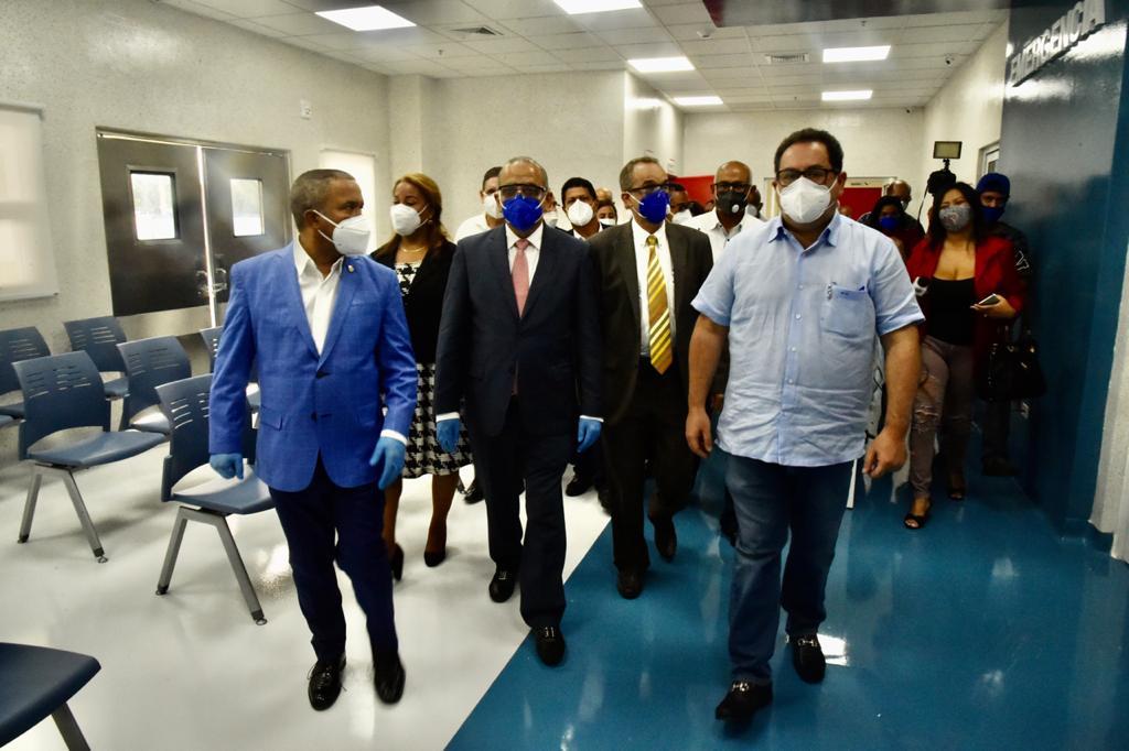 Mario Lama asegura entrada en servicio hospital de Bonao es prioridad del SNS