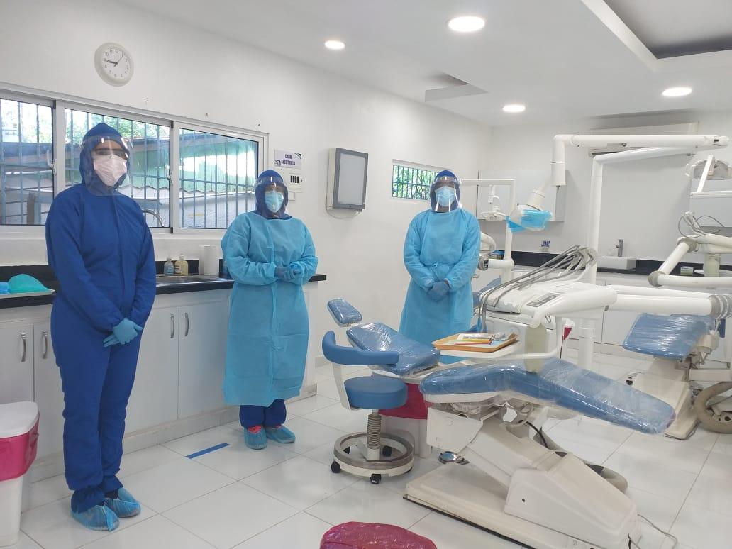 SNS evalúa condición de áreas odontológicas