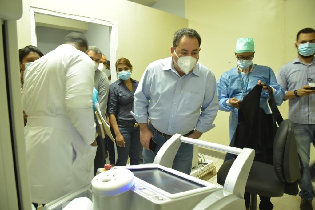 Director SNS supervisa hospitales del Gran Santo Domingo