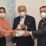 Primera Dama canaliza y entrega insumos médicos al SNS para seguir enfrentando COVID-19