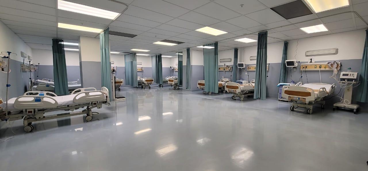 SNS amplía 125% capacidad camas UCI y 75% ventiladores hospital Marcelino Vélez