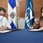 SNS y NUVI firman convenio para contribuir al medioambiente