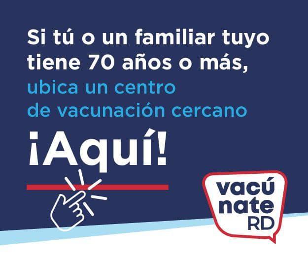Centros de Vacunación COVID-19 RD