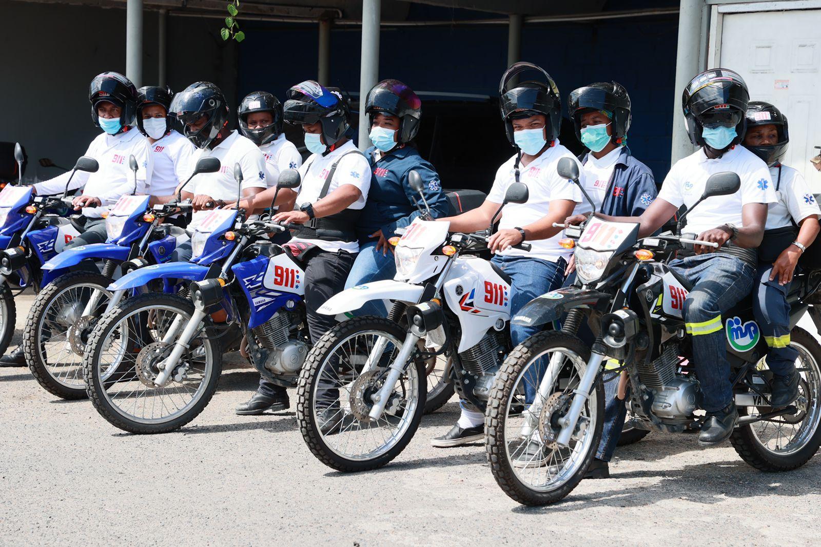 SNS lanza programa de moto asistencia para fortalecer respuesta Sistema 9-1-1